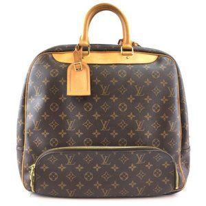 Louis Vuitton Evasion #43473 Gym Duffel Brown Monogram Canvas Weekend/Travel Bag
